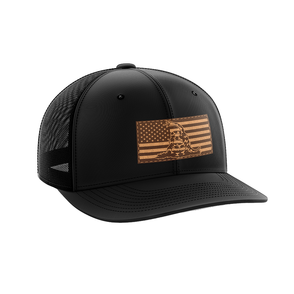 Don't Tread On Me Leather Patch Hat
