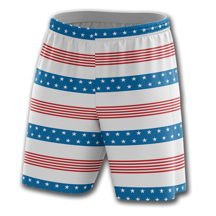 Old Glory Stripes Shorts