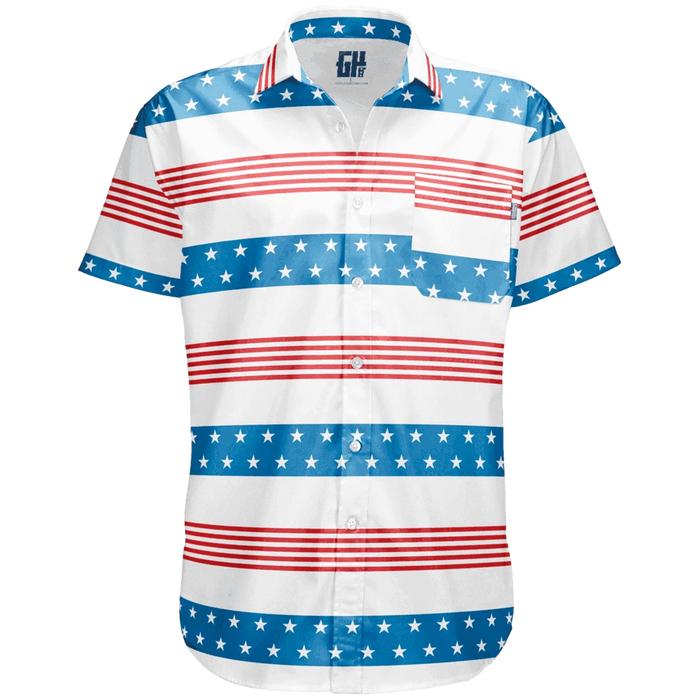 Stripes of Glory Button Down