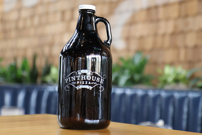 64 OZ. PINTHOUSE PIZZA GLASS GROWLER