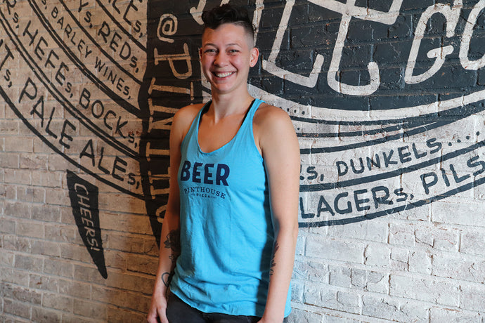 BEER RACERBACK TANK - WOMEN'S CUT