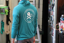 Load image into Gallery viewer, LIGHTWEIGHT TEAL HOODIE