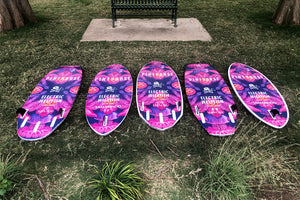 "THE STEALTH 4'10"" ELECTRIC JELLYFISH BRIGADE WAKE SURFBOARD"