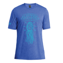 Load image into Gallery viewer, ELECTRIC JELLYFISH TEE - ROYAL FROST