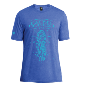 ELECTRIC JELLYFISH TEE - ROYAL FROST