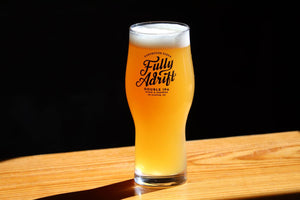 FULLY ADRIFT RASTAL IPA PINT GLASS - 16oz.