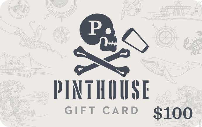 $100 PINTHOUSE GIFT CARD