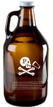 Load image into Gallery viewer, 64 OZ. PINTHOUSE PIZZA GLASS GROWLER