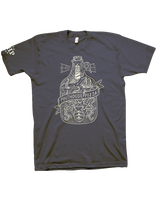 Load image into Gallery viewer, LIGHTHOUSE GROWLER TEE - UNISEX