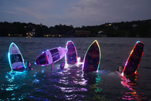 "Load image into Gallery viewer, THE BARRICADE 4'8"" ELECTRIC JELLYFISH BRIGADE WAKE SURFBOARD"