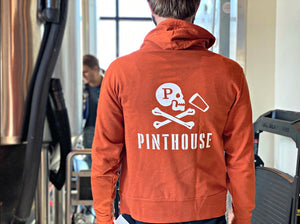 BURNT ORANGE PINTHOUSE HOODIE