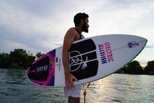 "Load image into Gallery viewer, THE TAMARINDO 54"" ELECTRIC JELLYFISH BRIGADE WAKE SURFBOARD"