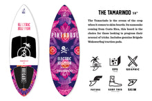 "Load image into Gallery viewer, THE TAMARINDO 58"" ELECTRIC JELLYFISH BRIGADE WAKE SURFBOARD"