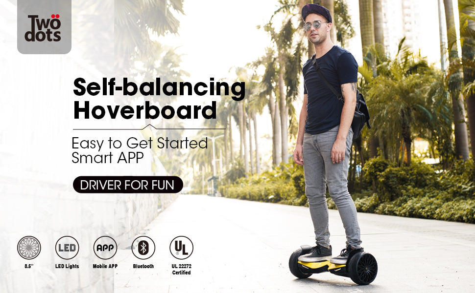 8.5 inchTwo Dots Glyboard Corse Hoverboard