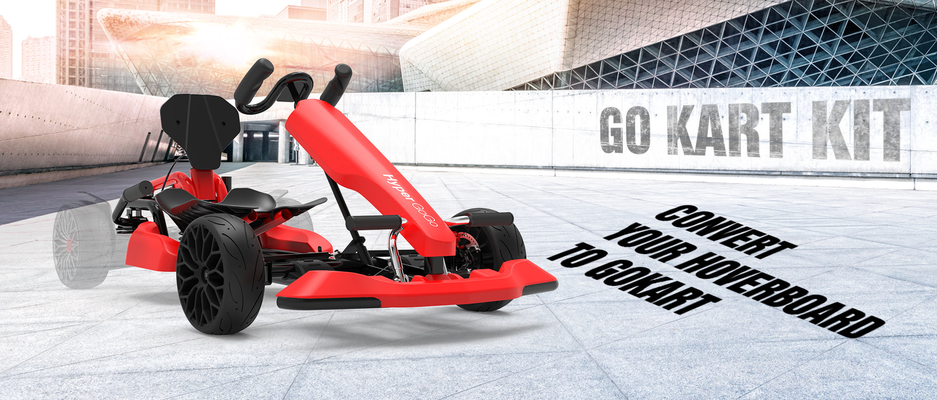Go Kart Kit - Convert Your Hoverboard to Gokart