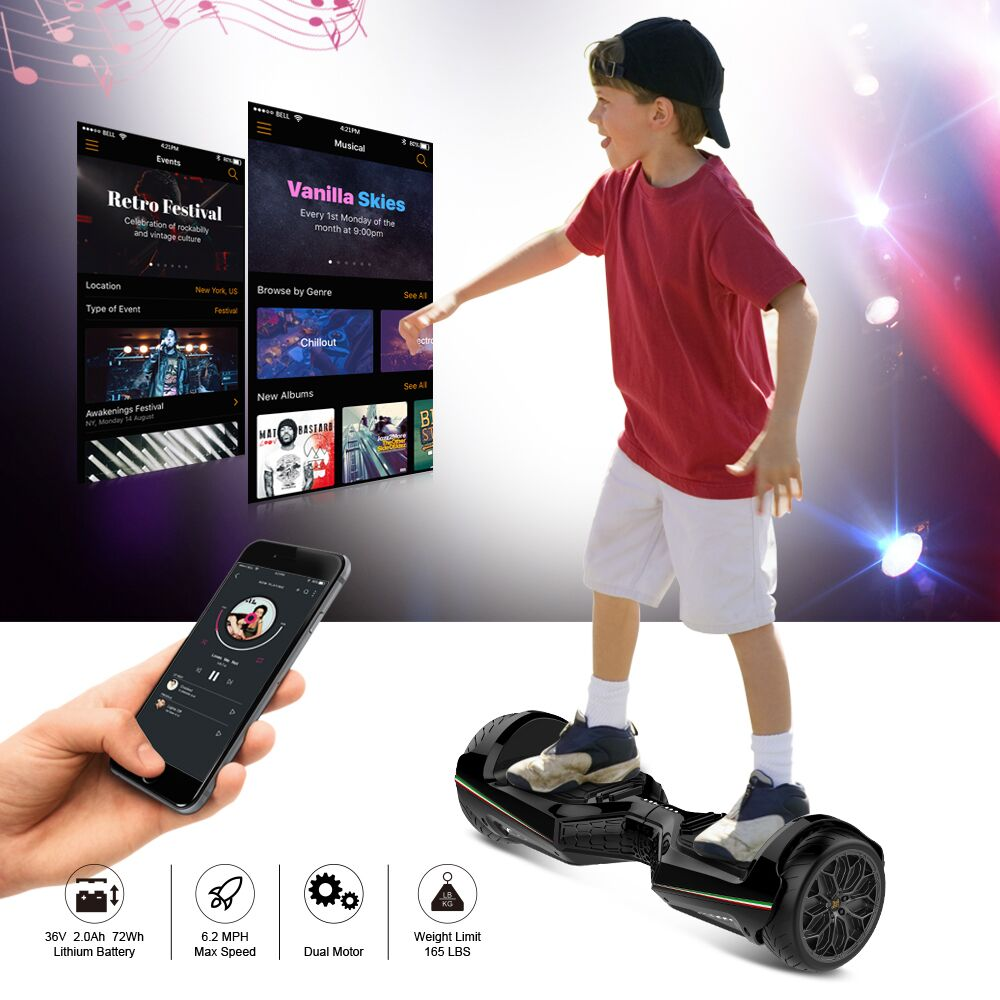 two-dots-bluetooth-hoverboard-6-5-black-hoverboard-app-controlled-for-kids-adults-app-functions
