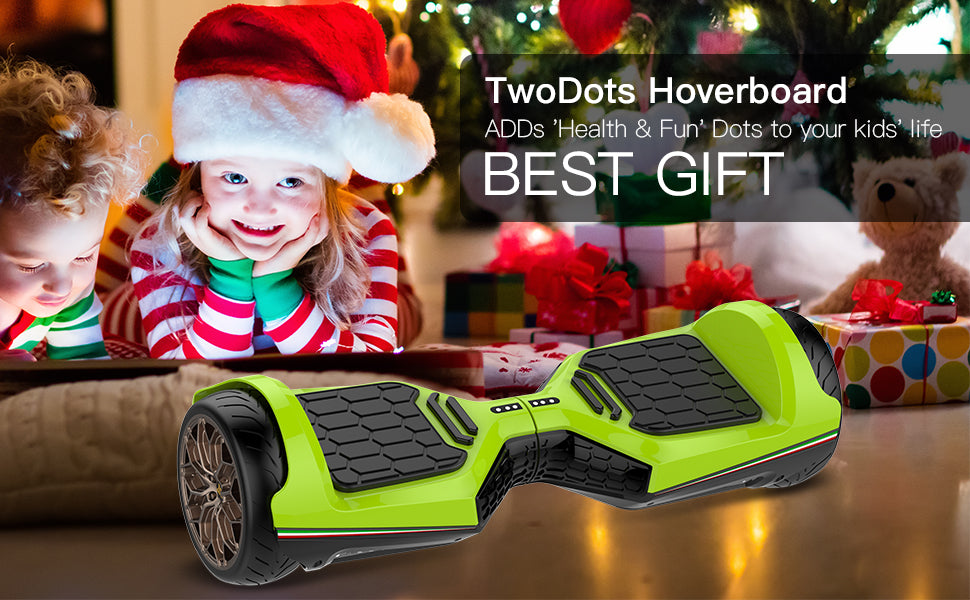 Two Dots Glyboard Veloce Hoverboard Bluetooth APP Enabled 6.5