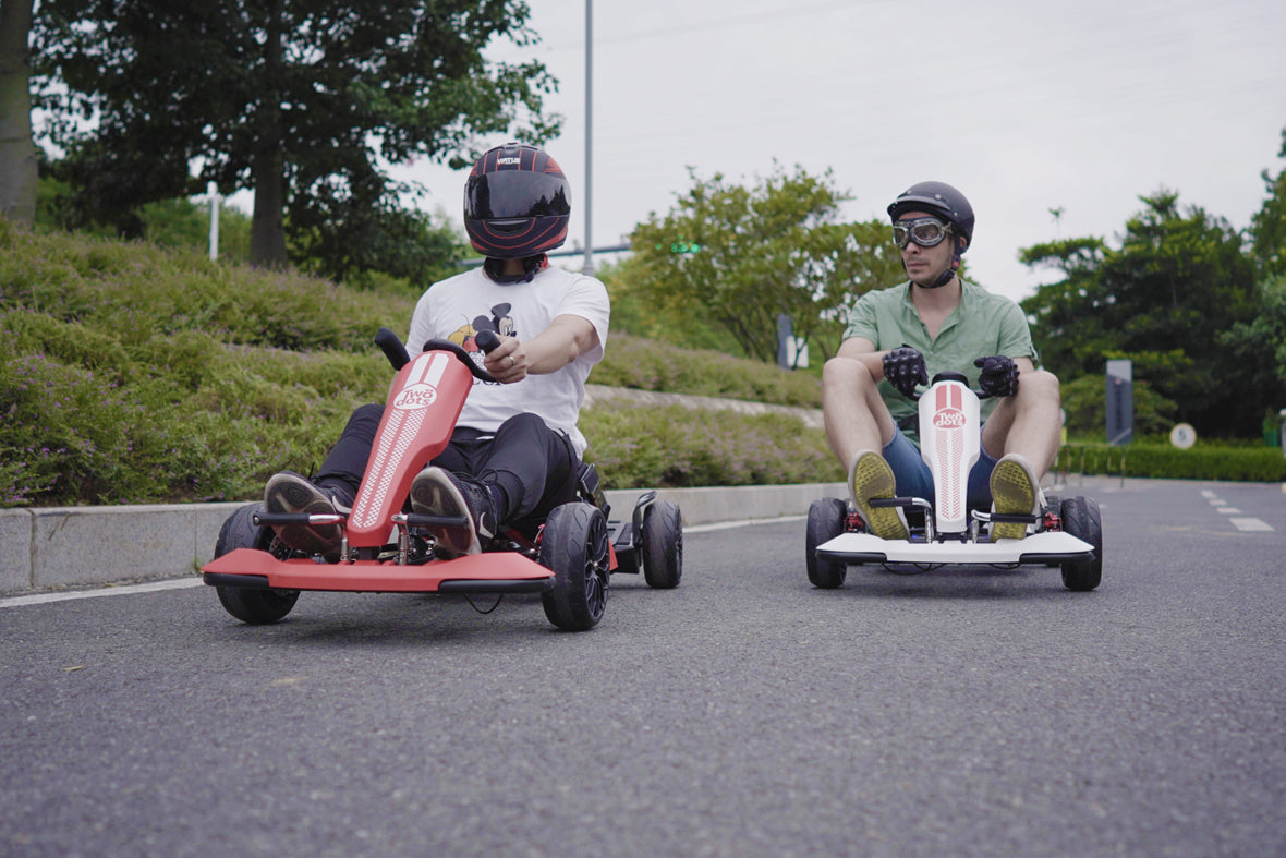 TwoDots Glyboard Corse Gokart - Outdoor Racer Pedal Car for Adult
