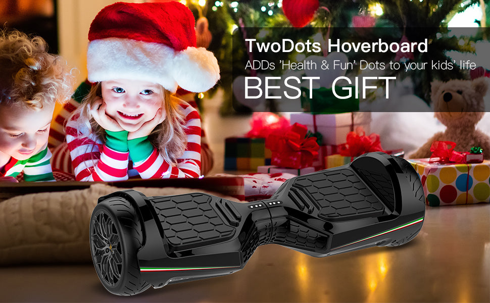 Two Dots Glyboard Veloce 6.5 inch All Terrain Hoverboard