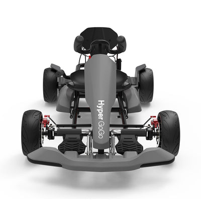 gokart - go kart - gokart kit - grey gokart kit - grey gokart and hoverboard combo - hoverboard and gokart - gokart for sale - pedal go kart - go kart frame kit - family go karts