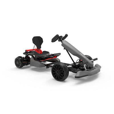 Grey Go Kart and Hoverboard