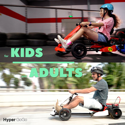 Go Kart and Hoverboard - for Kids and Adults