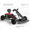 Grey Go kart kit - how to accelerate or decelerate