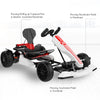 White Go kart kit - how to accelerate or decelerate