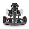 Grey Hoverboard Go Kart Kit - Two Dots Go Kart Attachment for Hoverboards, Self Balancing Scooter, Safe for Kids Adults