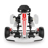 White Hoverboard Go Kart Kit - Two Dots Go Kart Attachment for Hoverboards, Self Balancing Scooter, Safe for Kids Adults