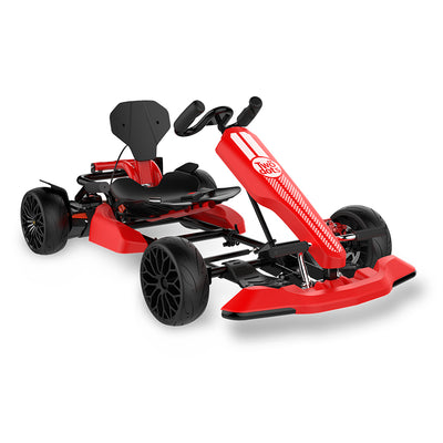 TwoDots Glyboard Corse Gokart - Outdoor Racer Pedal Car for Adult / Kids - 9.3MPH - 264.5 lbs