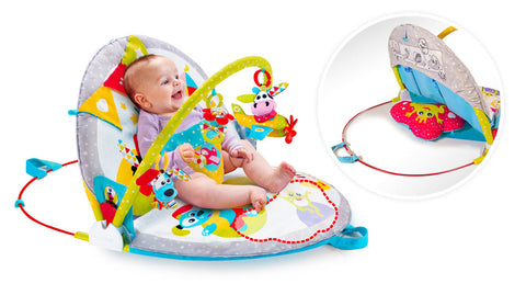 Yookidoo bab gym Gymotion Lay To Sit-Up Play - faza 3