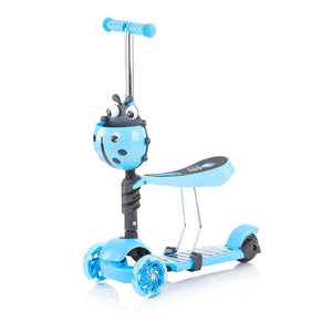 Chipolino romobil/guralica 2u1 Kiddy Evo - Blue