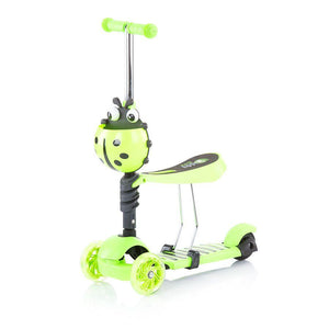 Chipolino romobil/guralica 2u1 Kiddy Evo - Green