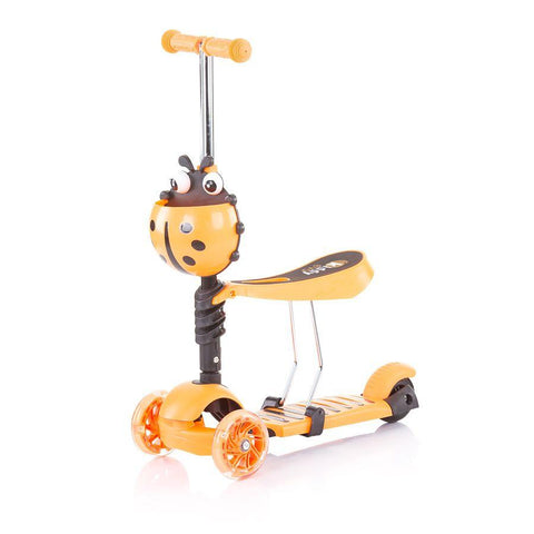 Chipolino romobil/guralica 2u1 Kiddy Evo - Orange - Sve za bebu