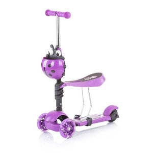 Chipolino romobil/guralica 2u1 Kiddy Evo - Purple