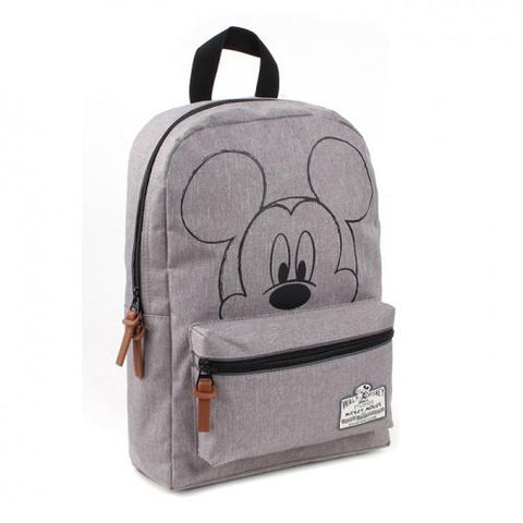 Disney Fashion Dječji ruksak Mickey Mouse 90th Anniversary - sivi, Mickey