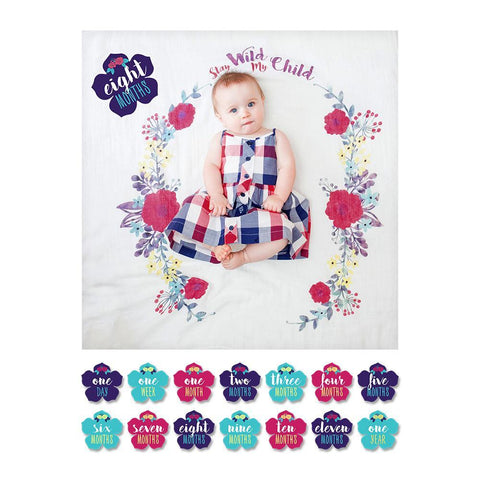 "Lulujo baby Lulujo baby set za fotografiranje ""Stay Wild My Child"""