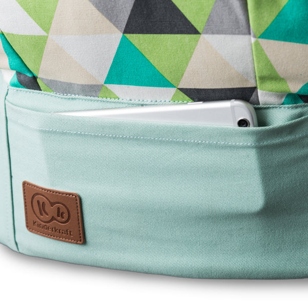 Kinderkraft nosiljka Nino do 20 kg - mint