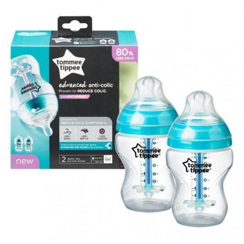 Tommee Tippee CTN Advanced ANTI-COLIC BOČICE, 260 ml, 2 komada