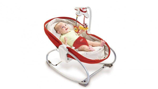 Tiny Love ležaljka 3u1 Rocker Napper - crvena - Sold out