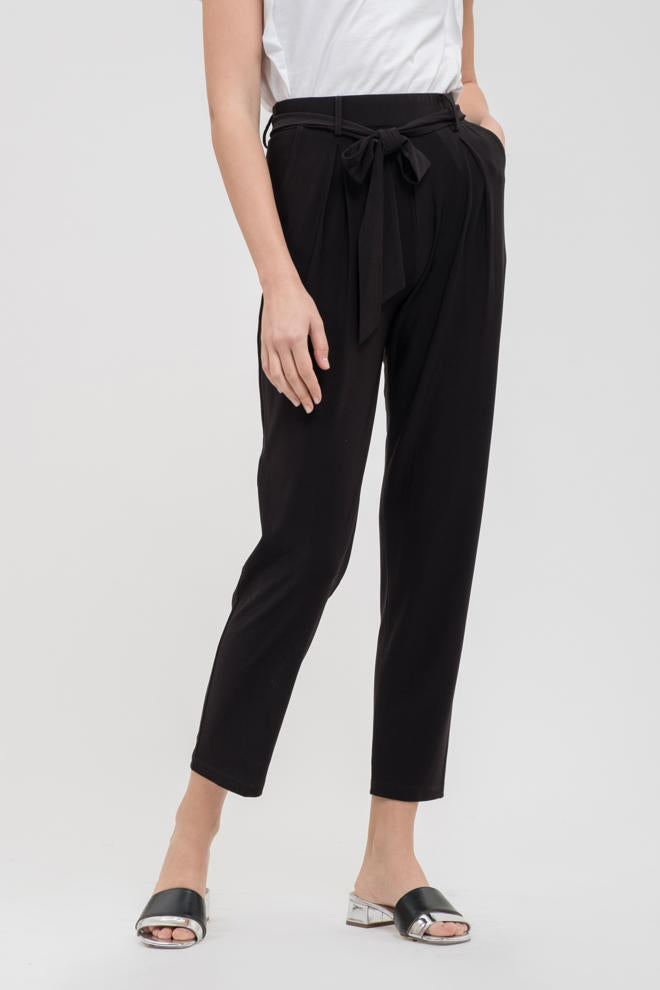 Silky Belted Pants