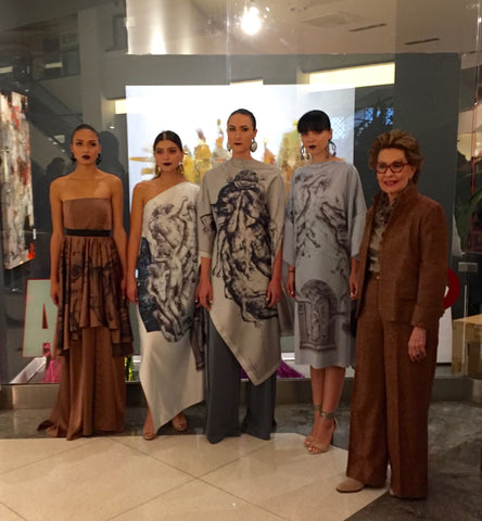 Bonnie Castañeda from Kolori Designs with models
