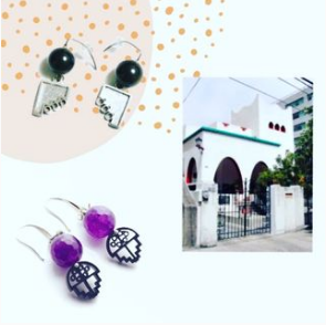 Ana Ibañez jewelry designs inspired by Casa Cristo in Mexico