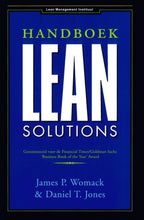 Afbeelding in Gallery-weergave laden, Handboek Lean Solutions