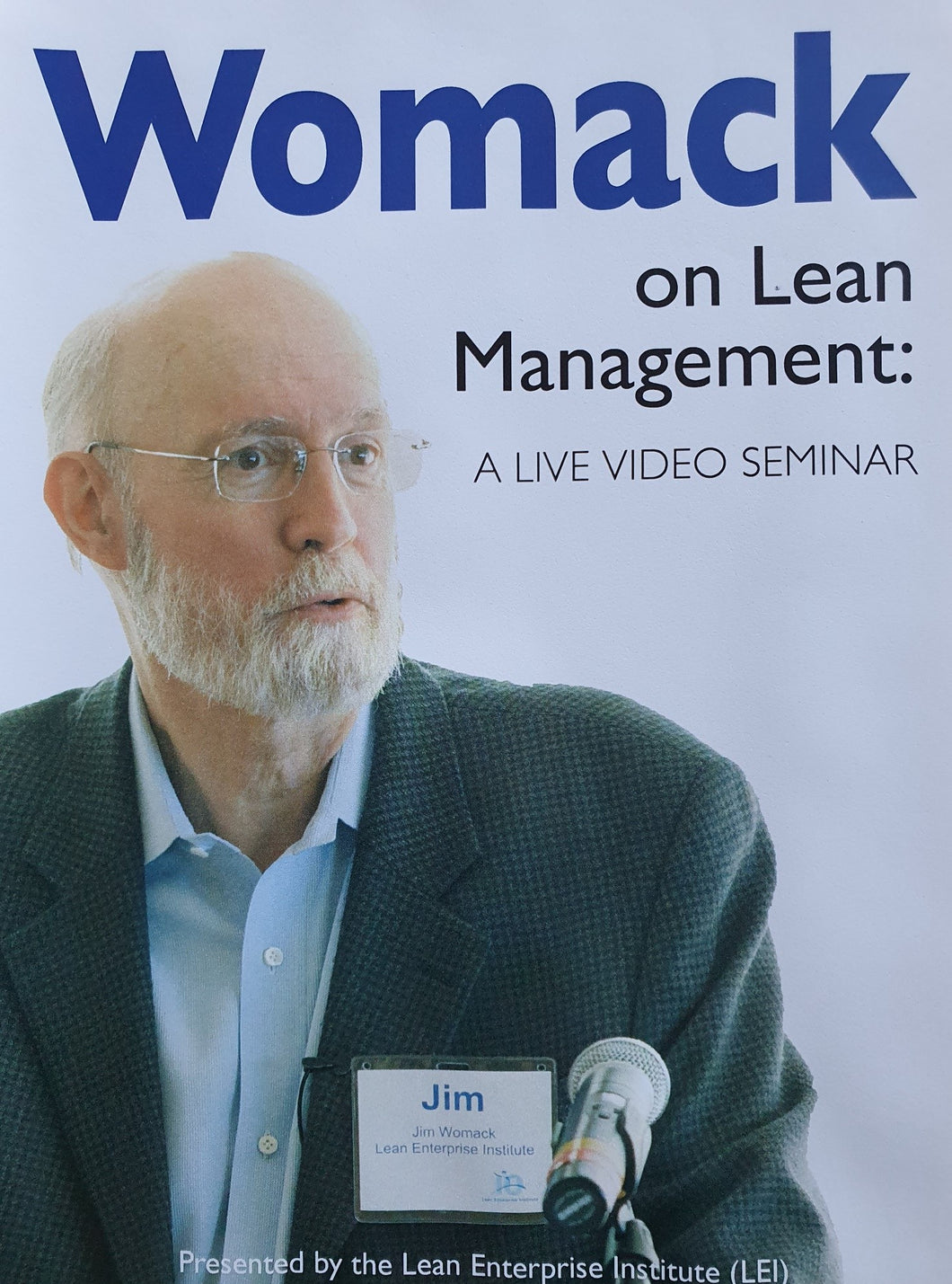 Womack on Lean Management (DVD)