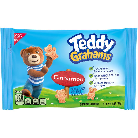 Cinnamon Teddy Grahams (48- 1 oz packages)
