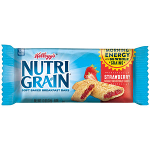 Kelloggs Nutrigrain Bar- Strawberry (96 bars)