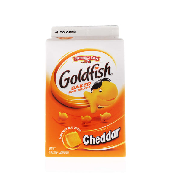 Cheese Goldfish Crackers- (31 oz.)