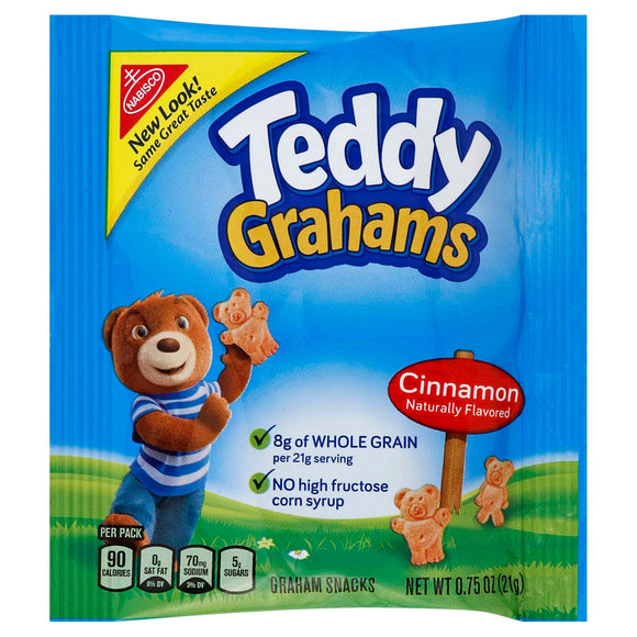 Cinnamon Teddy Grahams (150-.75 oz packages)